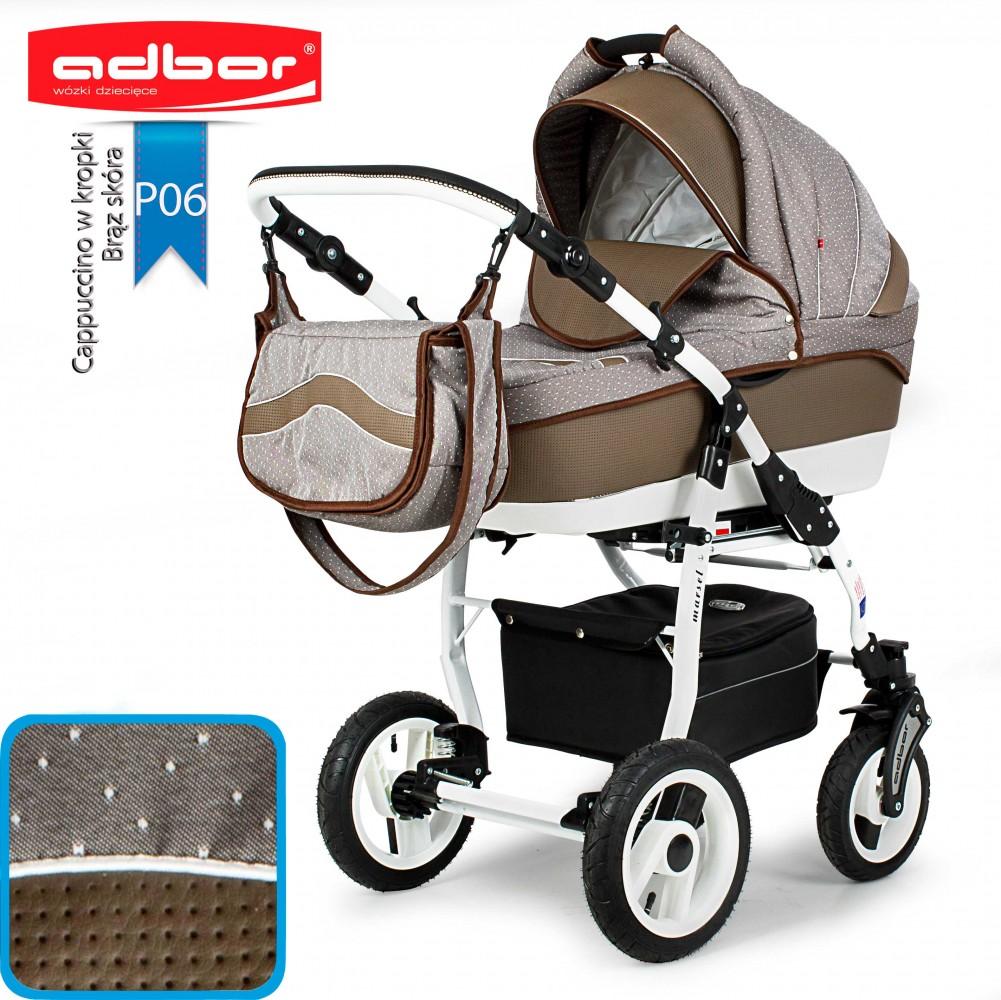 Wózek 3w1 Marsel Perfor Stelaż Sportadbor Babybumcompl
